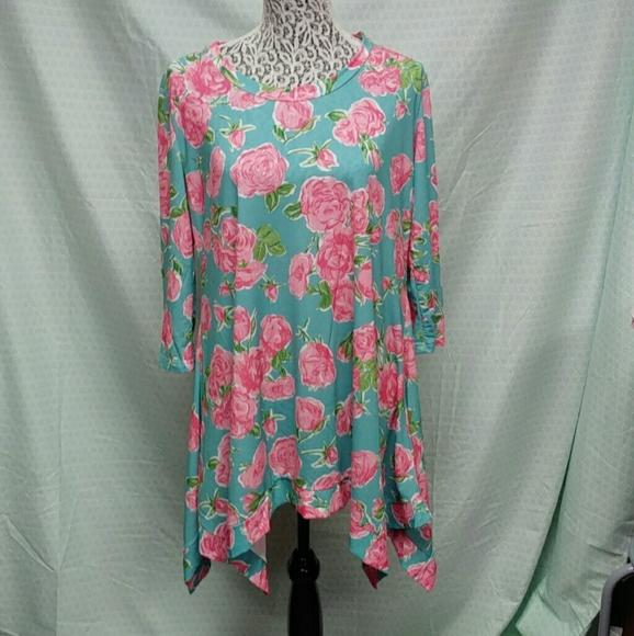 b24b397da1a Simply Southern Dresses   Rose Tunic Dress   Poshmark